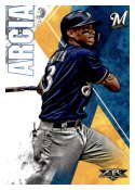 2019 Topps Fire #5 Orlando Arcia NM-MT Milwaukee Brewers