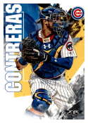 2019 Topps Fire #10 Willson Contreras NM-MT Chicago Cubs