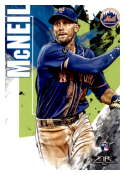 2019 Topps Fire #21 Jeff McNeil NM-MT RC Rookie New York Mets