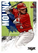 2019 Topps Fire #22 Yadier Molina NM-MT St. Louis Cardinals