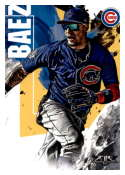 2019 Topps Fire #29 Javier Baez NM-MT Chicago Cubs