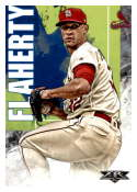 2019 Topps Fire #46 Jack Flaherty NM-MT St. Louis Cardinals