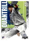 2019 Topps Fire #48 Cal Quantrill NM-MT RC Rookie San Diego Padres