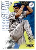 2019 Topps Fire #52 Clayton Kershaw NM-MT Los Angeles Dodgers