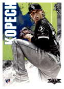 2019 Topps Fire #58 Michael Kopech NM-MT RC Rookie Chicago White Sox
