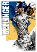 2019 Topps Fire #59 Cody Bellinger NM-MT Los Angeles Dodgers