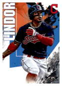 2019 Topps Fire #113 Francisco Lindor NM-MT Cleveland Indians