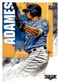 2019 Topps Fire #120 Willy Adames NM-MT Tampa Bay Rays