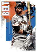 2019 Topps Fire #165 Brandon Belt NM-MT San Francisco Giants