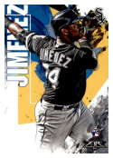2019 Topps Fire #168 Eloy Jimenez NM-MT RC Rookie Chicago White Sox