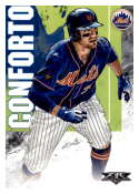 2019 Topps Fire #177 Michael Conforto NM-MT New York Mets