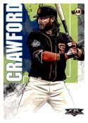 2019 Topps Fire #188 Brandon Crawford NM-MT San Francisco Giants