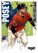 2019 Topps Fire #191 Buster Posey NM-MT San Francisco Giants