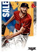 2019 Topps Fire #192 Chris Sale NM-MT Boston Red Sox