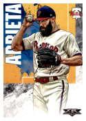 2019 Topps Fire #197 Jake Arrieta NM-MT Philadelphia Phillies