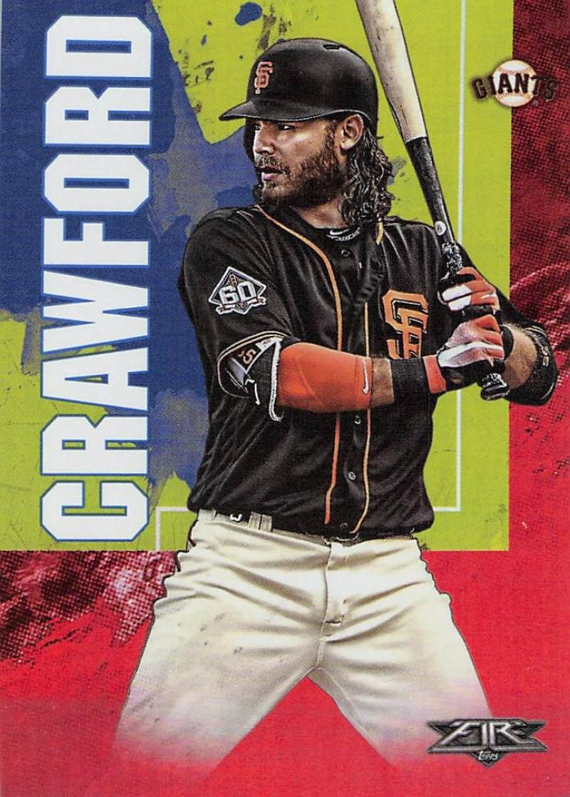 2019 Topps Fire Flame
