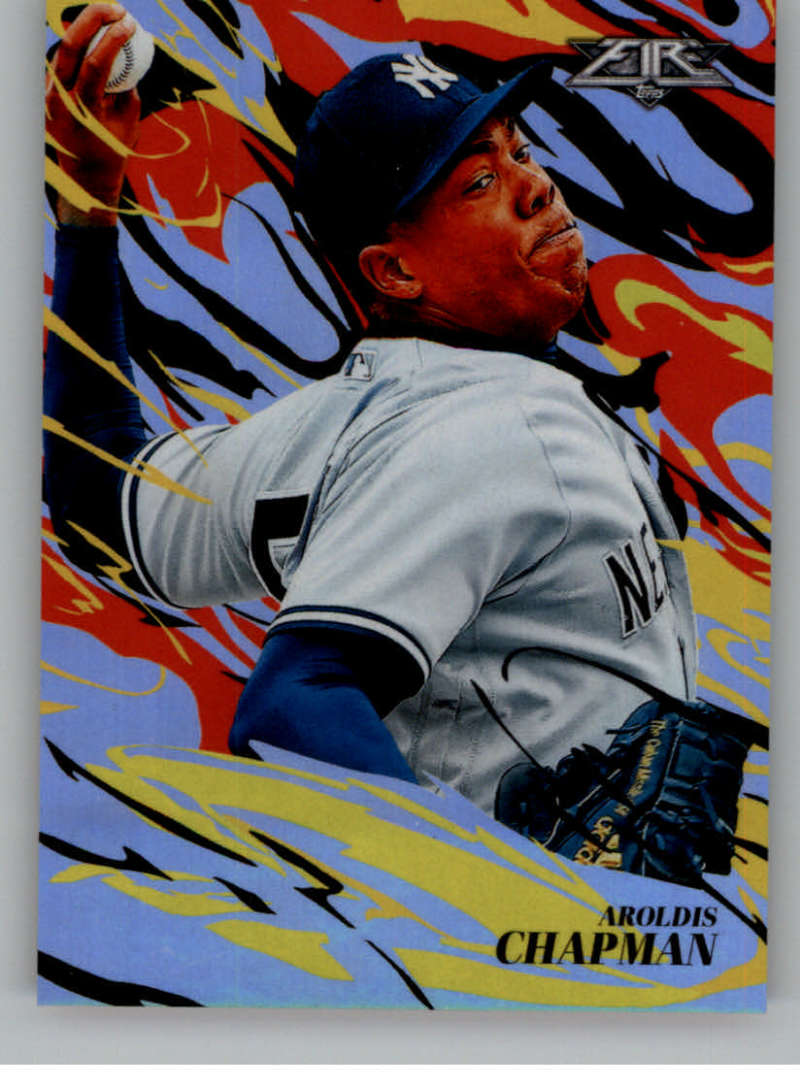 2019 Topps Fire Flame Throwers