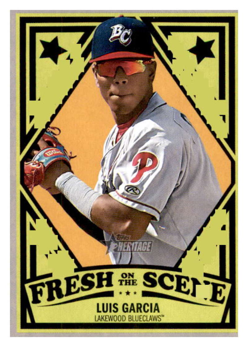 2019 Topps Heritage Minor League Fresh on the Scene