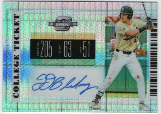 2019 Panini Contenders Draft Optic College Ticket Autographs Hyper