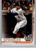 2019 Topps Update #US92 George Springer NM-MT Houston Astros