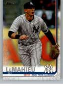 2019 Topps Update #US233 DJ LeMahieu NM-MT New York Yankees