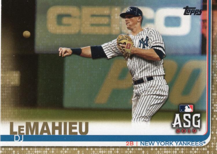 2019 Topps Update Gold