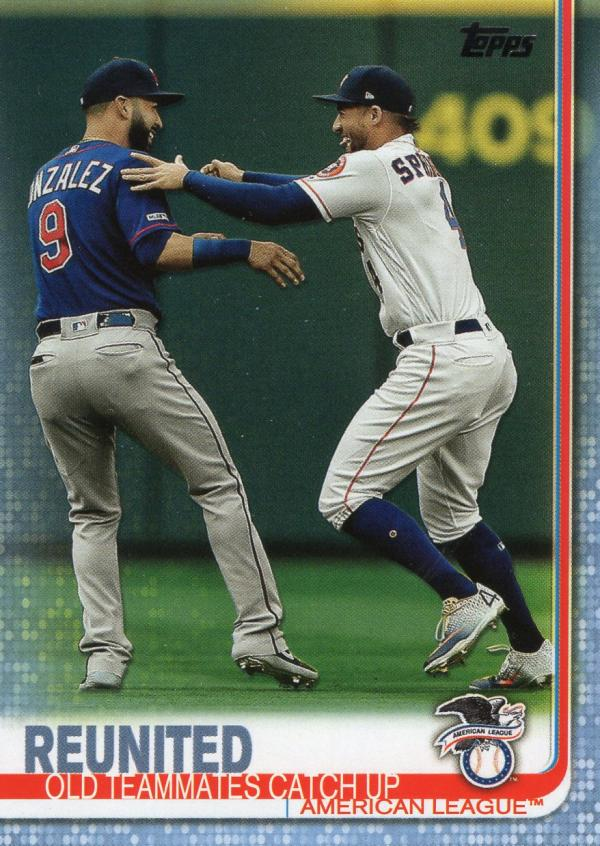 2019 Topps Update Father's Day Blue