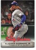2019 Topps Update The Family Business #FB-24 Vladimir Guerrero Jr. NM Near Mint Toronto Blue Jays