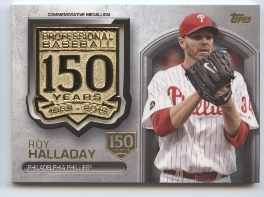 2019 Topps Update 150th Anniversary Manufactured Medallion Relics 150th Anniversary