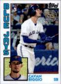 2019 Topps Update Series Silver Pack Refractor T84U-45 Cavan Biggio RC Rookie Toronto Blue Jays  Official MLB Trading Card (Hobby Exclusive)