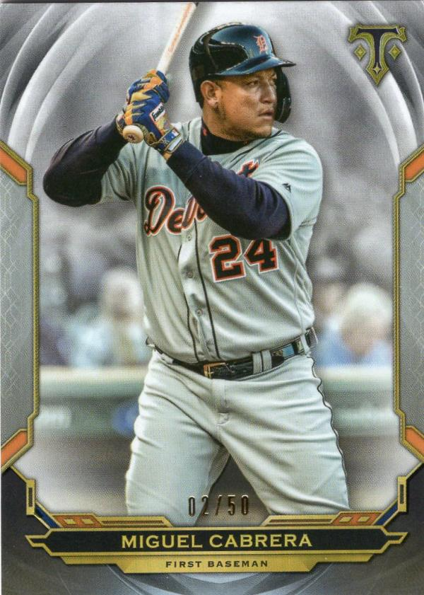 2019 Topps Triple Threads Onyx