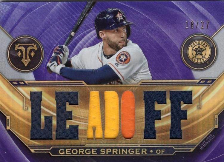 2019 Topps Triple Threads Relics Amethyst