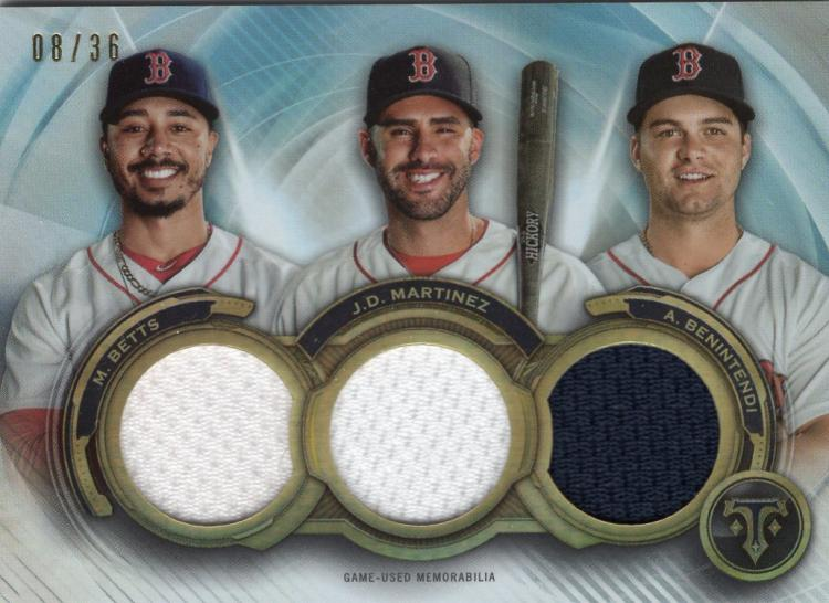 2019 Topps Triple Threads Relic Combos