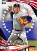 2019 Topps Update Perennial All-Stars #PAS-42 Nolan Ryan  Texas Rangers