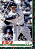 2019 Topps Holiday #HW148 Aaron Judge  New York Yankees