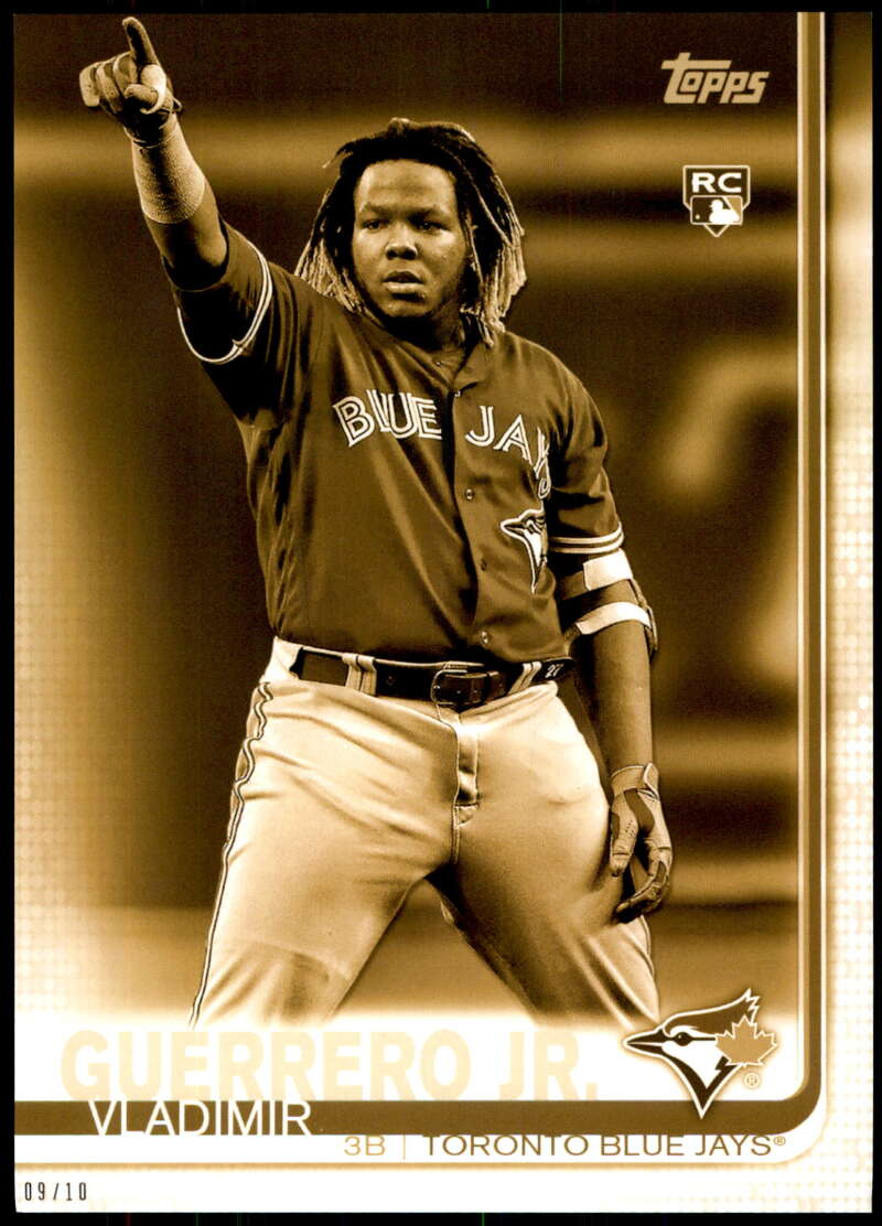 2019 Topps Update Variations 5x7 Gold