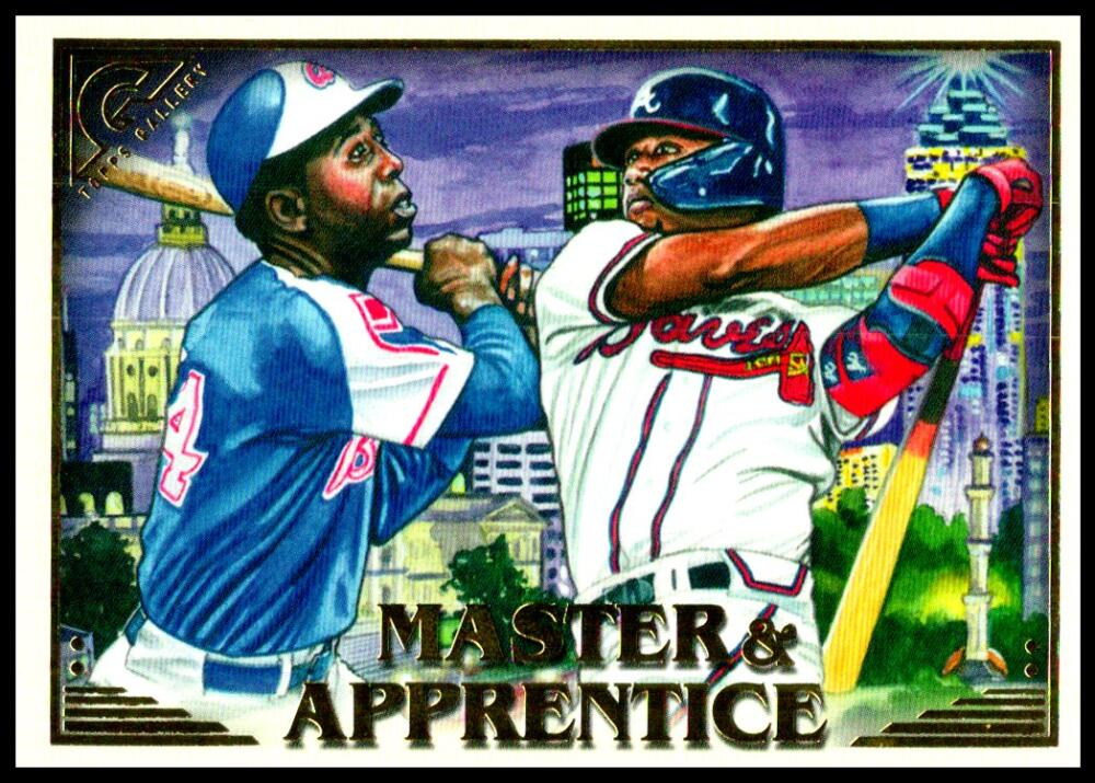 2019 Topps Gallery Master and Apprentice