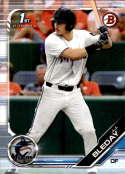 2019 Bowman Draft #BD-150 J.J. Bleday Miami Marlins NM-MT MLB