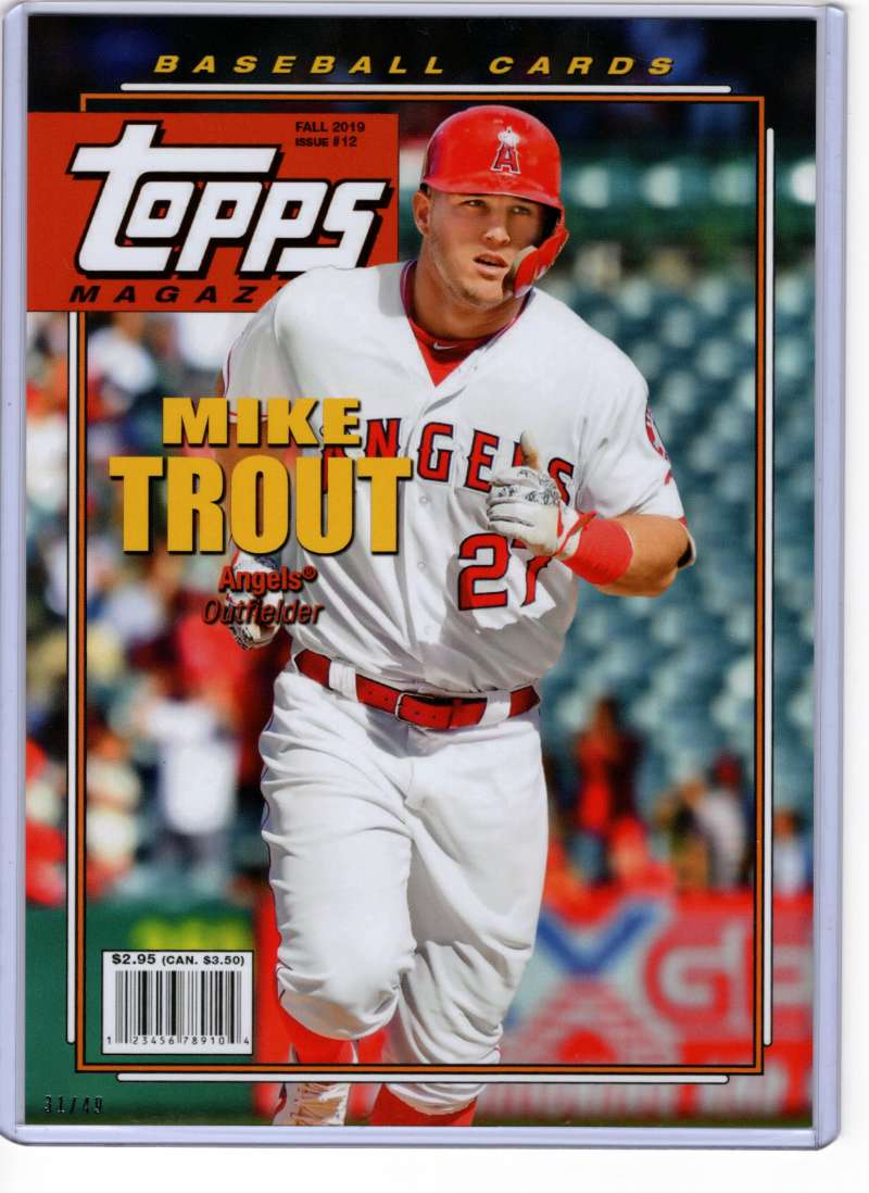 2019 Topps Archives Magazine 5x7