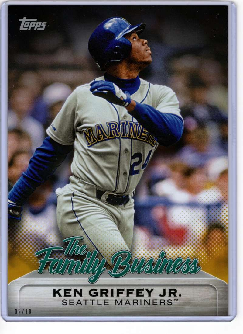 2019 Topps Update The Family Business 5x7 Gold