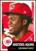 2020 Topps Living Set #283 Aristides Aquino NM-MT RC Cincinnati Reds