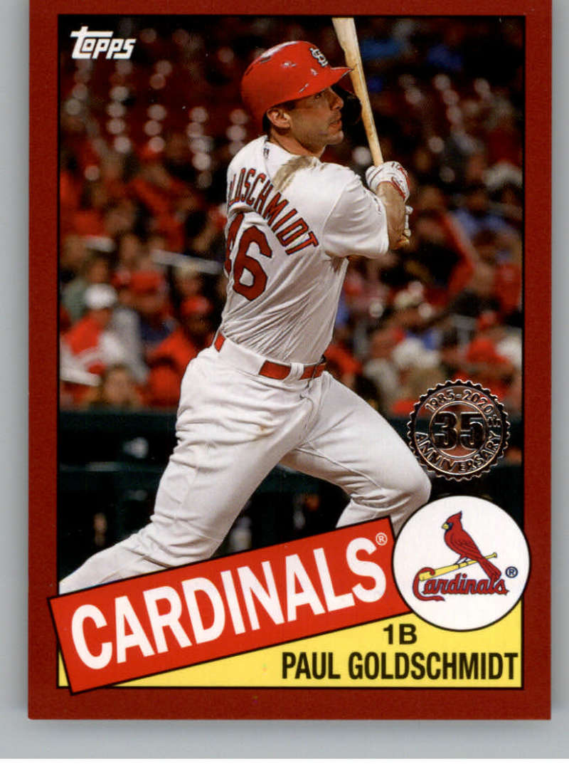 2020 Topps  1985 35th Anniversary Red