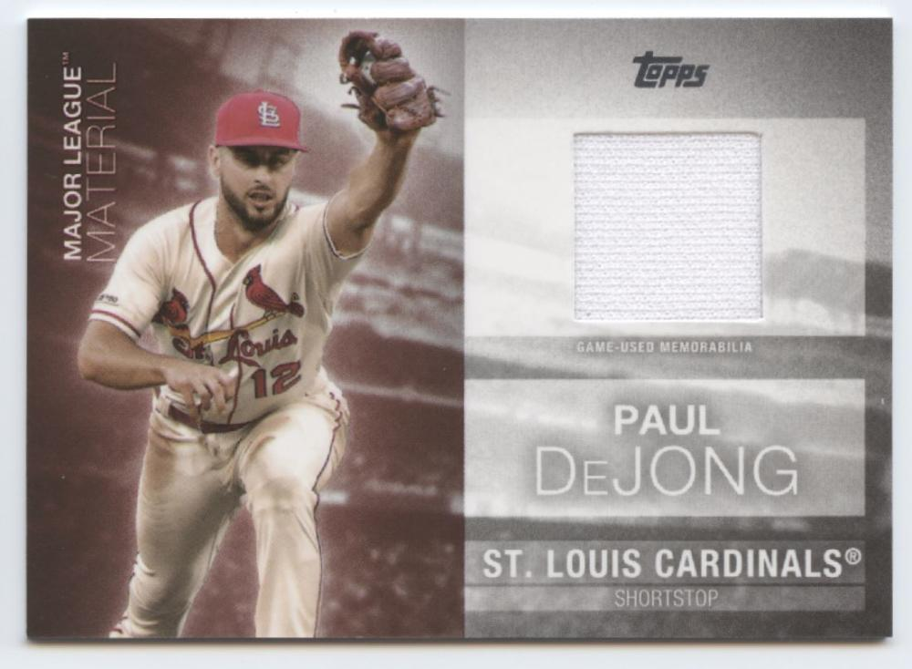 2020 Topps  Major League Material Relics