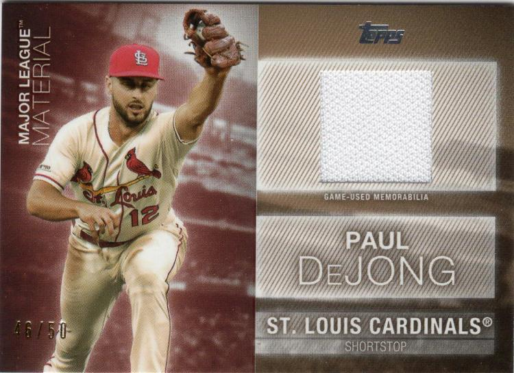 2020 Topps  Major League Material Relics Gold