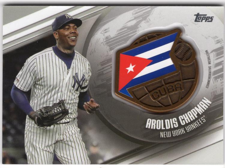 2020 Topps  Global Game Medallion Manufactured Relics
