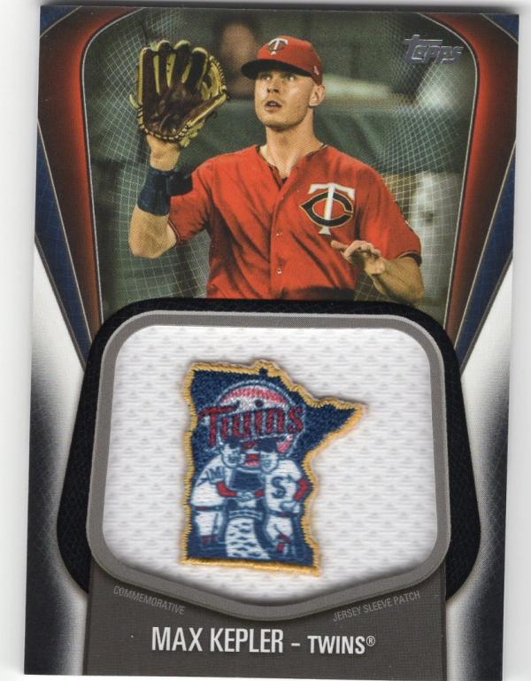 2020 Topps  Jumbo Jersey Sleeve Patch Manufactured Relics Black