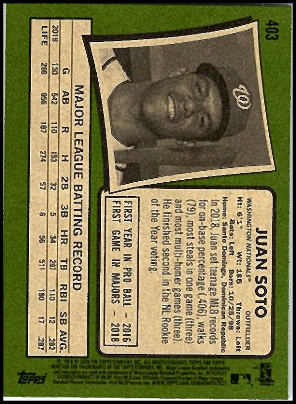 thumbnail 299 - 2020 Topps Heritage MLB Baseball Trading Cards Pick From List 251-500 W/Rookies