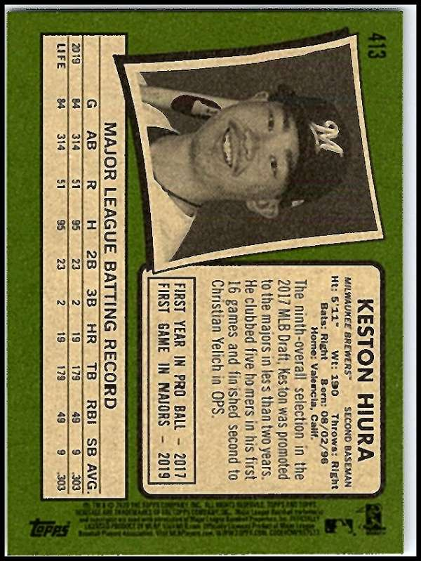 thumbnail 313 - 2020 Topps Heritage MLB Baseball Trading Cards Pick From List 251-500 W/Rookies