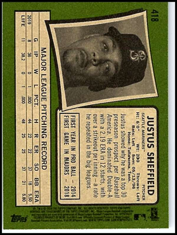 thumbnail 323 - 2020 Topps Heritage MLB Baseball Trading Cards Pick From List 251-500 W/Rookies