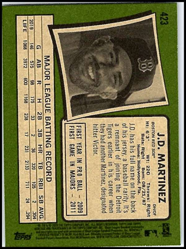 thumbnail 329 - 2020 Topps Heritage MLB Baseball Trading Cards Pick From List 251-500 W/Rookies